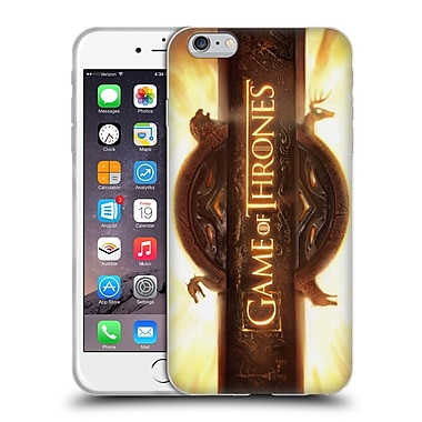 Official Hbo Game Of Thrones Key Art Opening Sequence Soft Gel Case For Apple Iphone 6 Plus / 6S Plus