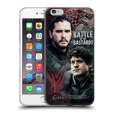 Official Hbo Game Of Thrones Battle Of The Bastards Jon Versus Ramsay Soft Gel Case For Apple Iphone 6 Plus / 6S Plus