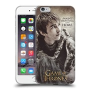 Official Hbo Game Of Thrones Character Quotes Bran Stark Soft Gel Case For Apple Iphone 6 Plus / 6S Plus