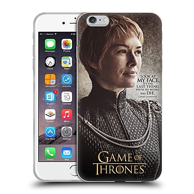 Official Hbo Game Of Thrones Character Quotes Cersei Lannister Soft Gel Case For Apple Iphone 6 Plus / 6S Plus