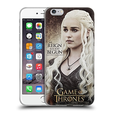 Official Hbo Game Of Thrones Character Quotes Daenerys Targaryen Soft Gel Case For Apple Iphone 6 Plus / 6S Plus