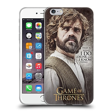 Official Hbo Game Of Thrones Character Quotes Tyrion Lannister Soft Gel Case For Apple Iphone 6 Plus / 6S Plus
