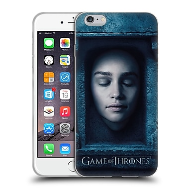 Official Hbo Game Of Thrones Faces Daenerys Targaryen Soft Gel Case For Apple Iphone 6 Plus / 6S Plus