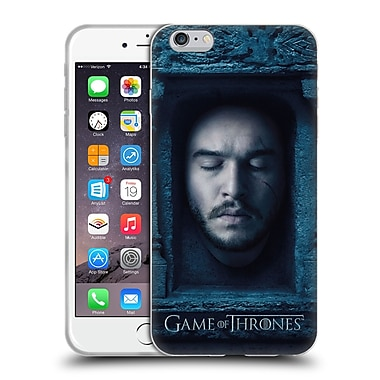 Official Hbo Game Of Thrones Faces Jon Snow Soft Gel Case For Apple Iphone 6 Plus / 6S Plus