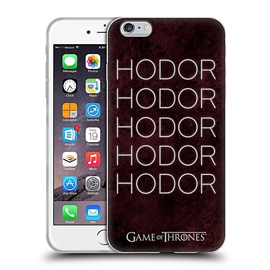 Official Hbo Game Of Thrones Hodor Hold The Door 1 Soft Gel Case For Apple Iphone 6 Plus / 6S Plus