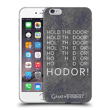 Official Hbo Game Of Thrones Hodor Hold The Door 2 Soft Gel Case For Apple Iphone 6 Plus / 6S Plus