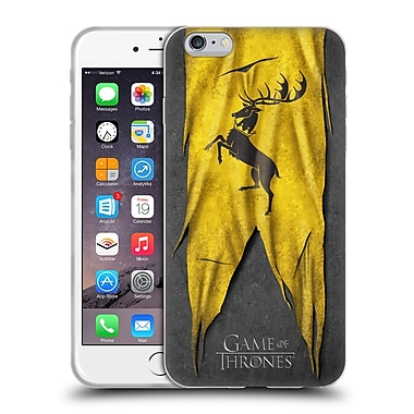 Official Hbo Game Of Thrones Sigil Flags Baratheon Soft Gel Case For Apple Iphone 6 Plus / 6S Plus
