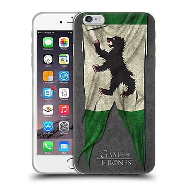 Official Hbo Game Of Thrones Sigil Flags Mormont Soft Gel Case For Apple Iphone 6 Plus / 6S Plus