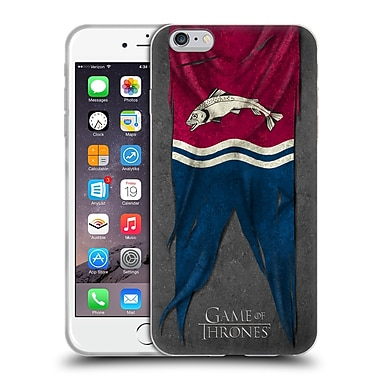 Official Hbo Game Of Thrones Sigil Flags Tully Soft Gel Case For Apple Iphone 6 Plus / 6S Plus