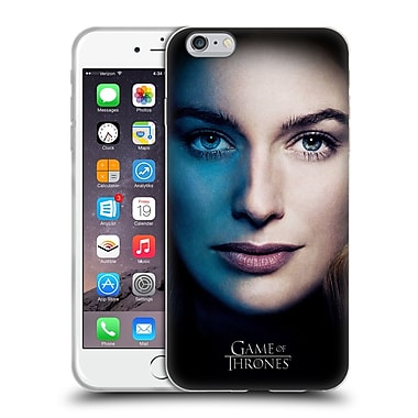 Official Hbo Game Of Thrones Valar Morghulis Cersei Lannister Soft Gel Case For Apple Iphone 6 Plus / 6S Plus