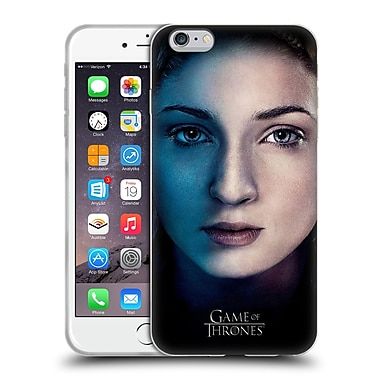 Official Hbo Game Of Thrones Valar Morghulis Sansa Stark Soft Gel Case For Apple Iphone 6 Plus / 6S Plus