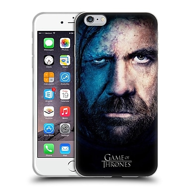 Official Hbo Game Of Thrones Valar Morghulis Sandor Clegane Soft Gel Case For Apple Iphone 6 Plus / 6S Plus