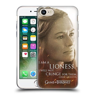 Official Hbo Game Of Thrones Character Portraits Cersei Lannister Soft Gel Case For Apple Iphone 7