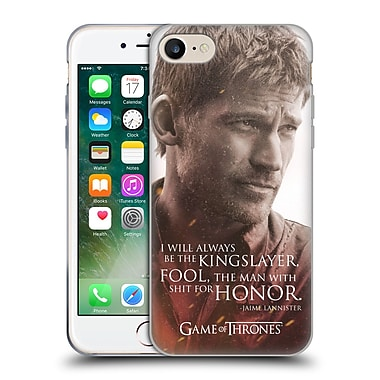 Official Hbo Game Of Thrones Character Portraits Jaime Lannister Soft Gel Case For Apple Iphone 7