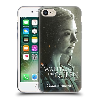 Official Hbo Game Of Thrones Character Portraits Margaery Tyrell Soft Gel Case For Apple Iphone 7