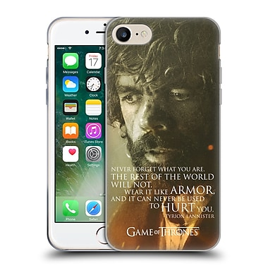 Official Hbo Game Of Thrones Character Portraits Tyrion Lannister Soft Gel Case For Apple Iphone 7