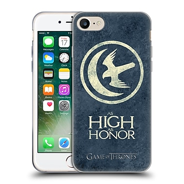 Official Hbo Game Of Thrones Dark Distressed Sigils Arryn Soft Gel Case For Apple Iphone 7