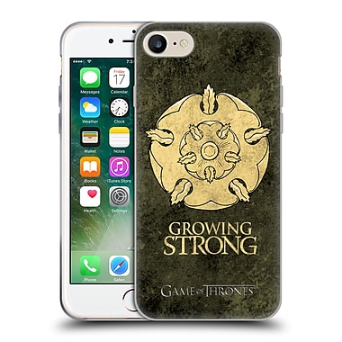 Official Hbo Game Of Thrones Dark Distressed Sigils Tyrell Soft Gel Case For Apple Iphone 7