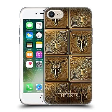 Official Hbo Game Of Thrones Golden Sigils Greyjoy Soft Gel Case For Apple Iphone 7