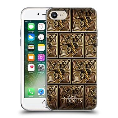 Official Hbo Game Of Thrones Golden Sigils Lannister Soft Gel Case For Apple Iphone 7