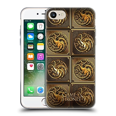 Official Hbo Game Of Thrones Golden Sigils Targaryen Soft Gel Case For Apple Iphone 7