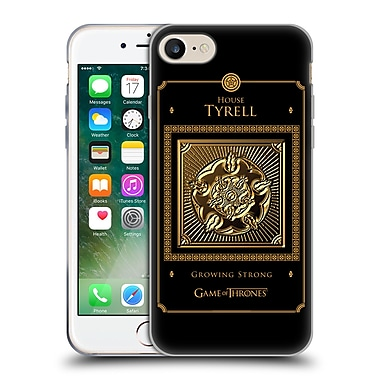 Official Hbo Game Of Thrones Golden Sigils Tyrell Border Soft Gel Case For Apple Iphone 7