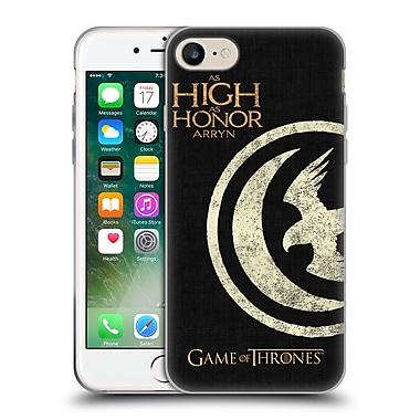 Official Hbo Game Of Thrones House Mottos Arryn Soft Gel Case For Apple Iphone 7