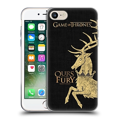 Official Hbo Game Of Thrones House Mottos Baratheon Soft Gel Case For Apple Iphone 7