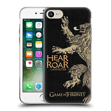 Official Hbo Game Of Thrones House Mottos Lannister Soft Gel Case For Apple Iphone 7