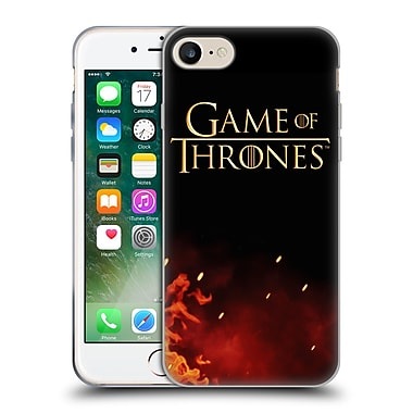 Official Hbo Game Of Thrones Key Art Logo Soft Gel Case For Apple Iphone 7
