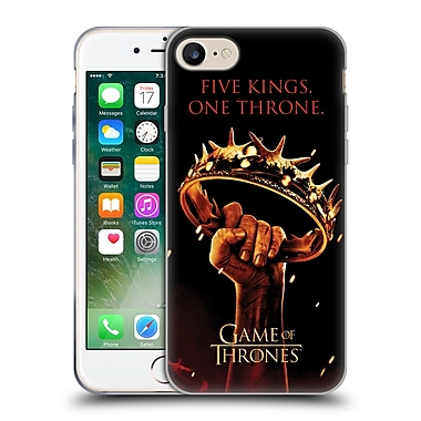 Official Hbo Game Of Thrones Key Art One Throne Soft Gel Case For Apple Iphone 7