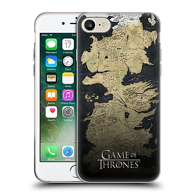 Official Hbo Game Of Thrones Key Art Westeros Map Soft Gel Case For Apple Iphone 7