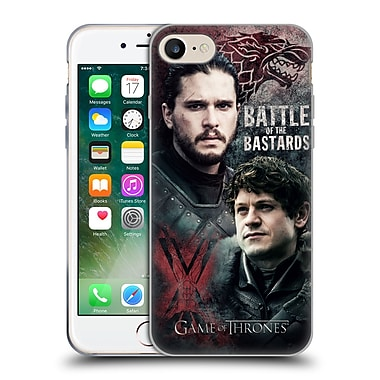 Official Hbo Game Of Thrones Battle Of The Bastards Jon Versus Ramsay Soft Gel Case For Apple Iphone 7