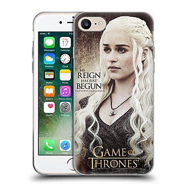 Official Hbo Game Of Thrones Character Quotes Daenerys Targaryen Soft Gel Case For Apple Iphone 7