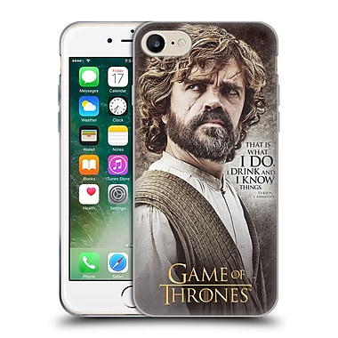 Official Hbo Game Of Thrones Character Quotes Tyrion Lannister Soft Gel Case For Apple Iphone 7