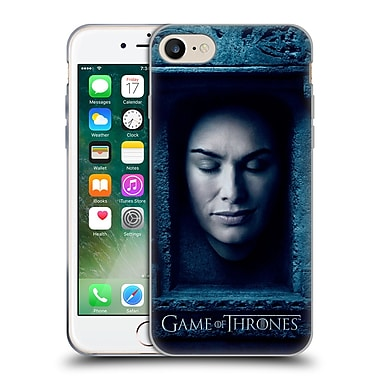 Official Hbo Game Of Thrones Faces Cersei Lannister Soft Gel Case For Apple Iphone 7