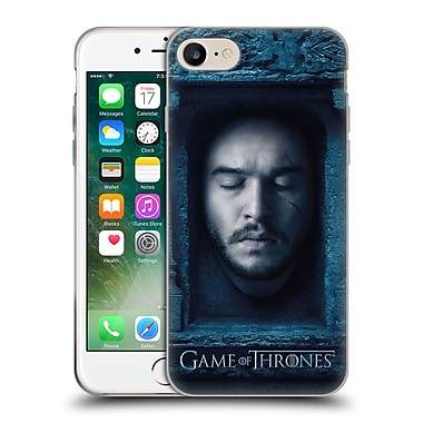 Official Hbo Game Of Thrones Faces Jon Snow Soft Gel Case For Apple Iphone 7