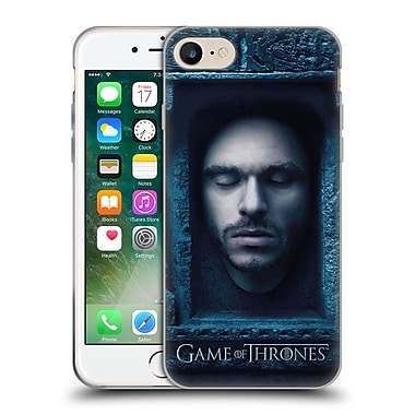 Official Hbo Game Of Thrones Faces Robb Stark Soft Gel Case For Apple Iphone 7