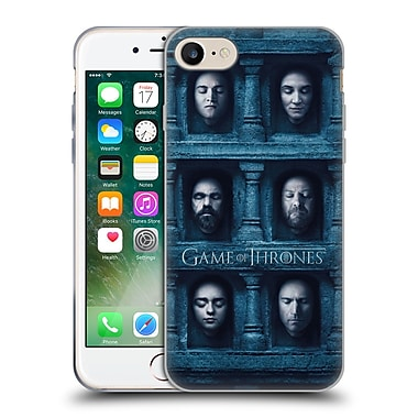 Official Hbo Game Of Thrones Faces 2 Six Heads Soft Gel Case For Apple Iphone 7