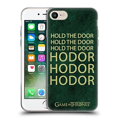 Official Hbo Game Of Thrones Hodor Name Soft Gel Case For Apple Iphone 7