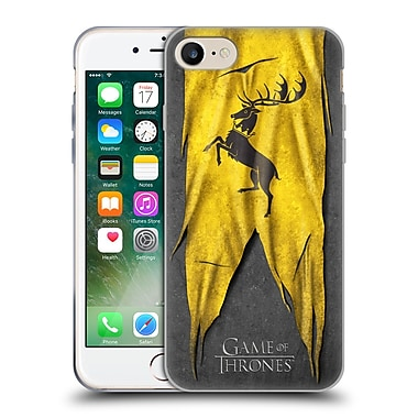 Official Hbo Game Of Thrones Sigil Flags Baratheon Soft Gel Case For Apple Iphone 7