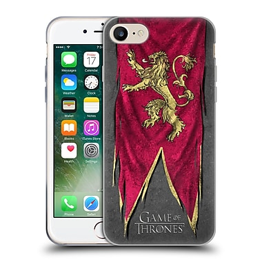 Official Hbo Game Of Thrones Sigil Flags Lannister Soft Gel Case For Apple Iphone 7