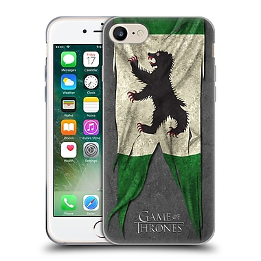 Official Hbo Game Of Thrones Sigil Flags Mormont Soft Gel Case For Apple Iphone 7