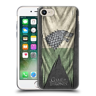 Official Hbo Game Of Thrones Sigil Flags Stark Soft Gel Case For Apple Iphone 7