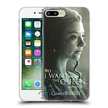 Official Hbo Game Of Thrones Character Portraits Margaery Tyrell Soft Gel Case For Apple Iphone 7 Plus