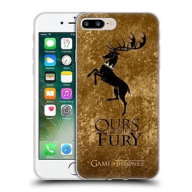 Official Hbo Game Of Thrones Dark Distressed Sigils Baratheon Soft Gel Case For Apple Iphone 7 Plus