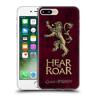 Official Hbo Game Of Thrones Dark Distressed Sigils Lannister Soft Gel Case For Apple Iphone 7 Plus