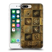 Official Hbo Game Of Thrones Golden Sigils All Houses Soft Gel Case For Apple Iphone 7 Plus
