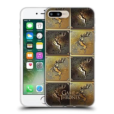Official Hbo Game Of Thrones Golden Sigils Baratheon Soft Gel Case For Apple Iphone 7 Plus