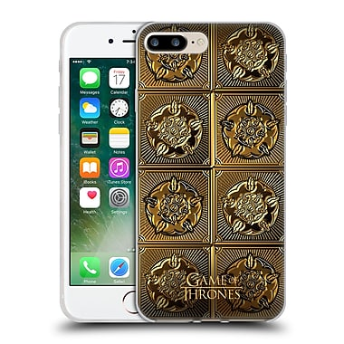 Official Hbo Game Of Thrones Golden Sigils Tyrell Soft Gel Case For Apple Iphone 7 Plus